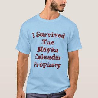 La camiseta maya del oro de las profecías del