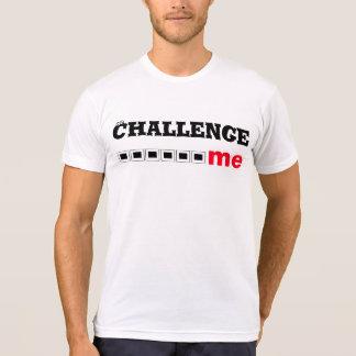 La camiseta/me desafía a diseñar