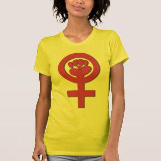 La camiseta menuda de las mujeres camisas