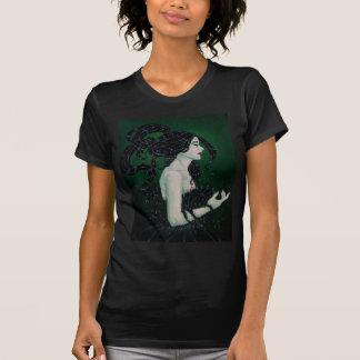 La camiseta negra básica de Ladie