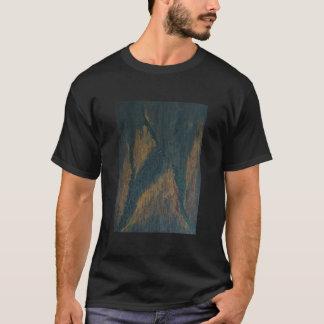La camiseta negra S-6X de los hombres del