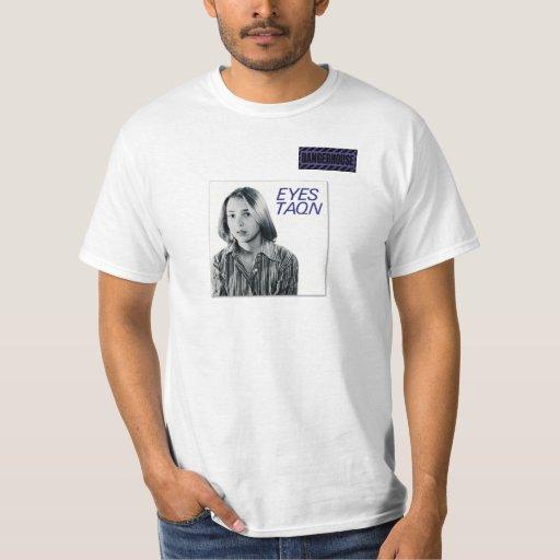 La camiseta observa BLANCO de TAQN Dangerhouse Playera