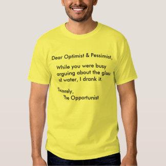 La camiseta oportunista playera