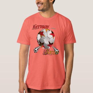 La camiseta orgánica de fútbol de los hombres camisas