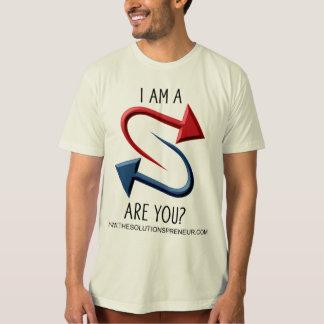 """La camiseta orgánica de la """"declaración"""" de poleras"""