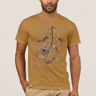 La camiseta orgánica de los hombres de Oriole de