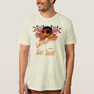 La camiseta orgánica del fútbol de los hombres playera