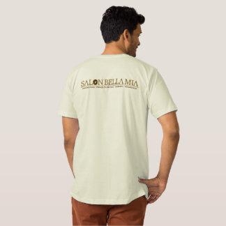 La camiseta orgánica del rizo de SBM del hombre de Playera