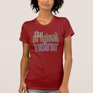 La camiseta original del transformador remera