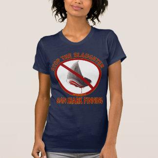 La camiseta oscura de las mujeres de Finning del Remera