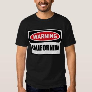 La camiseta oscura de los hombres CALIFORNIANOS Remeras