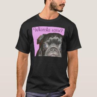 La camiseta oscura de los hombres de Whatcha Eatin