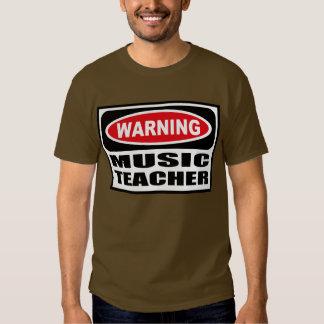 La camiseta oscura de MÚSICA de los hombres Playeras