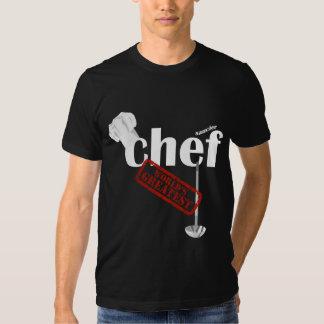 La camiseta para hombre más grande de un mundo más playeras