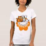 La camiseta para mujer del ayudante del mascota