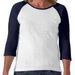 La camiseta para mujer del raglán de North End Ita