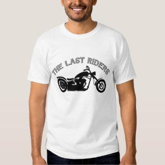La camiseta pasada de los jinetes en blanco/gris camisas