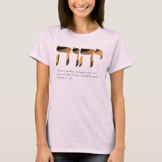 La camiseta rosada de las mujeres, glorifica 31:30
