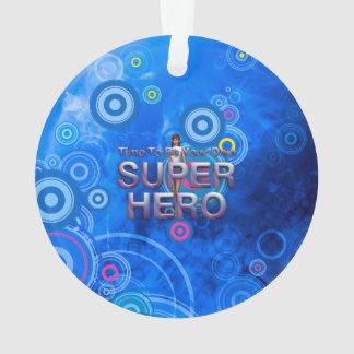 La CAMISETA sea poseer al super héroe