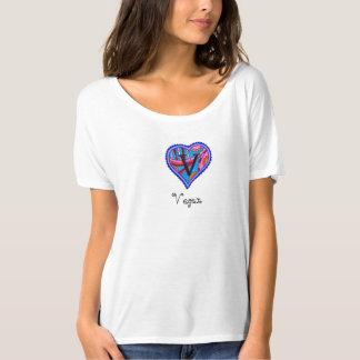 La camiseta simple de las mujeres del vegano remeras