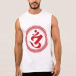 La camiseta sin mangas de los hombres de Siddham O