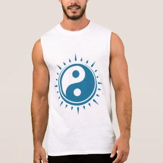 La camiseta sin mangas de los hombres del símbolo