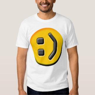 ¡La camiseta sonriente REAL! Playera