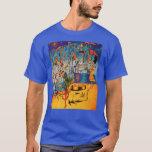 La camiseta surrealista de los hombres