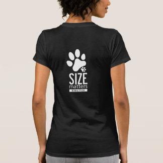 "La camiseta ""tamaño importa"" 1-Sided"