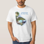 La camiseta XL de los hombres del mapa de Barbados Playera