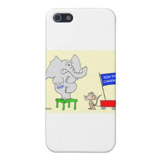 La campaña de Ron Paul asusta a republicanos iPhone 5 Carcasa