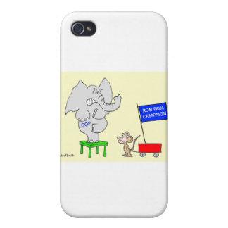 La campaña de Ron Paul asusta a republicanos iPhone 4 Cobertura