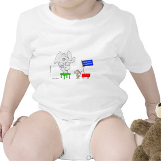 La campaña de Ron Paul asusta a republicanos Trajes De Bebé