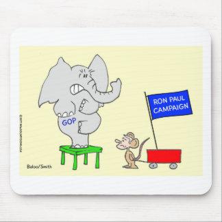 La campaña de Ron Paul asusta a republicanos Tapete De Ratones