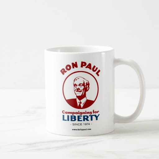 ¡La campaña de Ron Paul para la libertad! Tazas