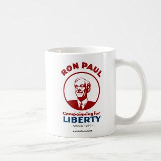 ¡La campaña de Ron Paul para la libertad! Taza De Café