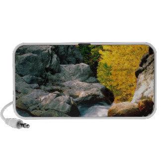 La cañada Ellis del agua cae la montaña blanca iPod Altavoz