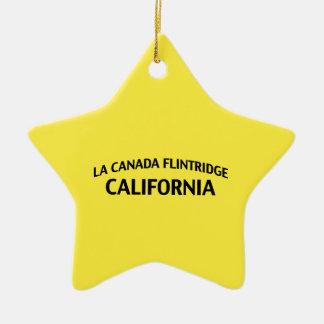 La Canada Flintridge California Christmas Ornaments
