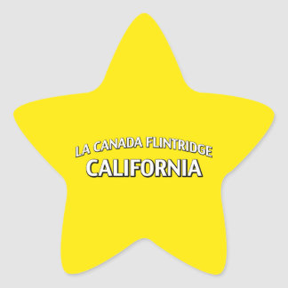 La Canada Flintridge California Sticker