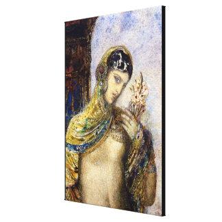 La canción de las canciones (detalle de 83718) lienzo envuelto para galerías