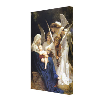 La canción de los ángeles envolvió la lona impresion de lienzo