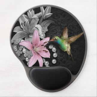La canción del colibrí alfombrillas de ratón con gel