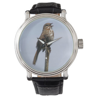La canción del gorrión reloj de mano