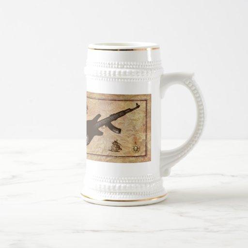 La canción del pirata taza de café