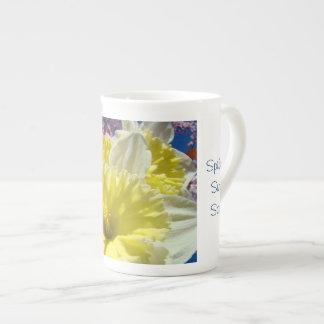 ¡La canción dulce de la primavera! La porcelana de Taza De Porcelana
