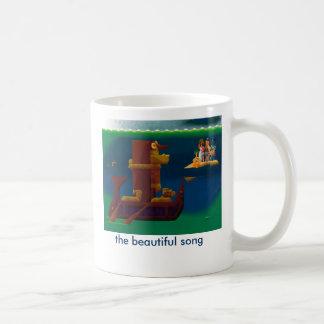 la canción hermosa taza clásica