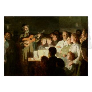 La canción Seller, 1903 Tarjeta De Felicitación