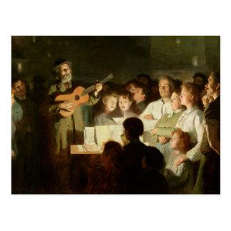 La canción Seller, 1903 Postal