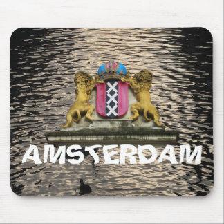 La capa de Amsterdam arma el agua Mousepad del can Tapete De Ratones