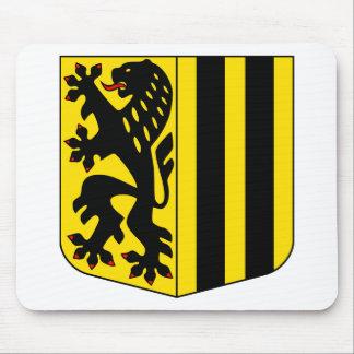 La capa de Dresden arma el símbolo oficial de Alem Alfombrillas De Raton